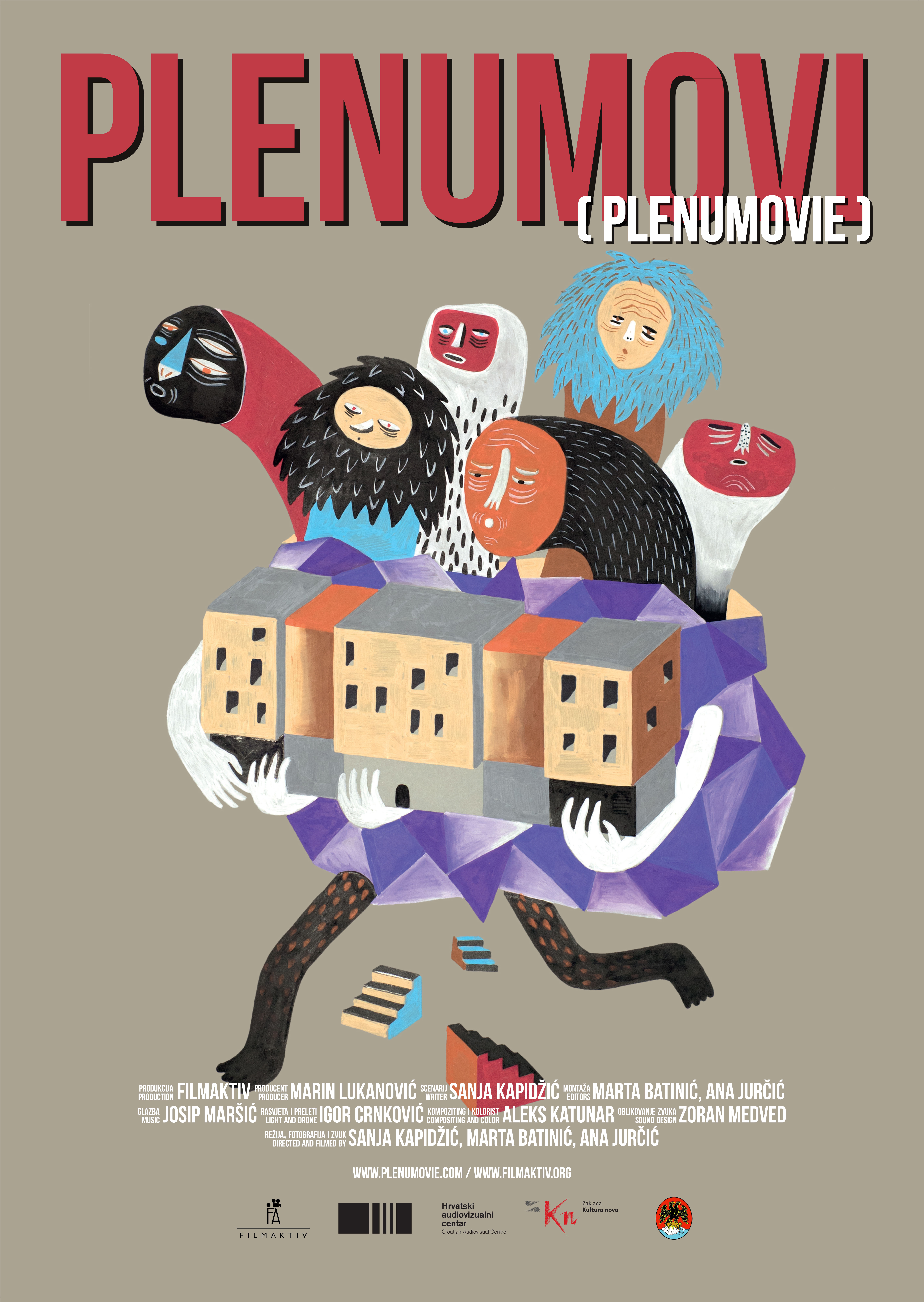 The oofficial poster of the documentary film Plenumovie