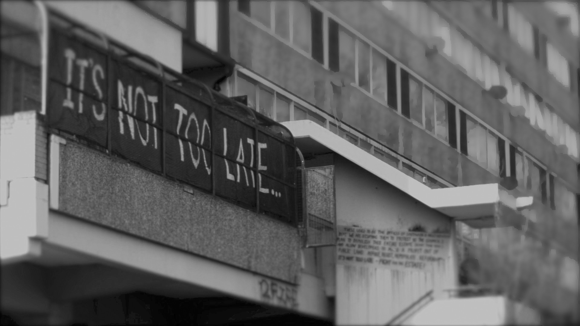 Sce from the documentary movie Concrete Soldiers UK